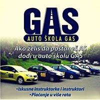 Auto škola GAS logo